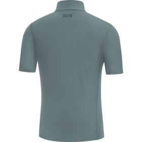 GORE WEAR R5 Koszulka z zamkiem błyskawicznym Mężczyźni, niebieski